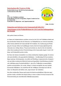 Seite1 aus Wahlprüfsteine und Stellungnahme des AKZ am 10_9_2014end mit Vortrag
